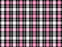 Pink Suede Plaid Door Panel Trims - Shift Royal