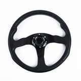 Flat Leather Steering Wheel - Shift Royal