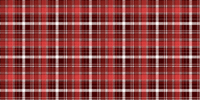 Red Suede Plaid Door Panel Trims - Shift Royal