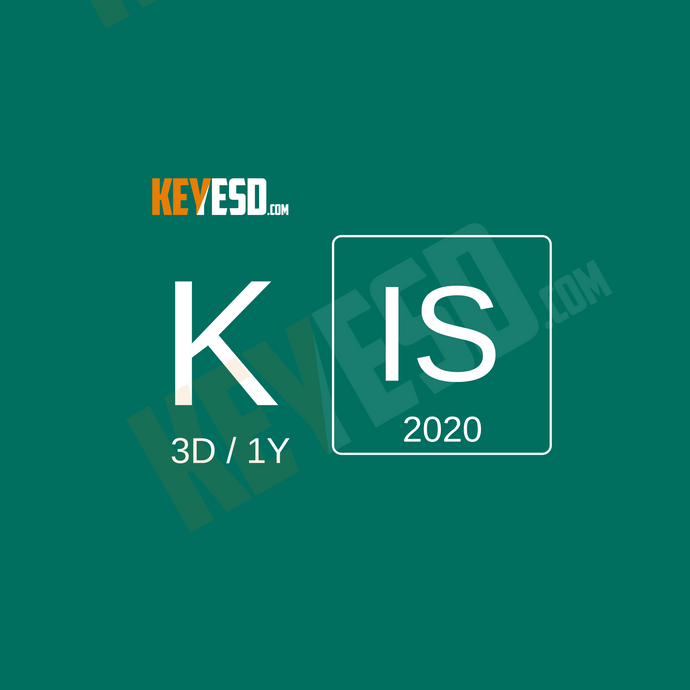Kaspersky Internet Security 2020 - 3 Devices - 1 Year EU - keyesd