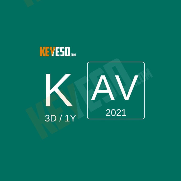 Kaspersky Antivirus 2021 - 3 Devices - 1 Year EU - keyesd