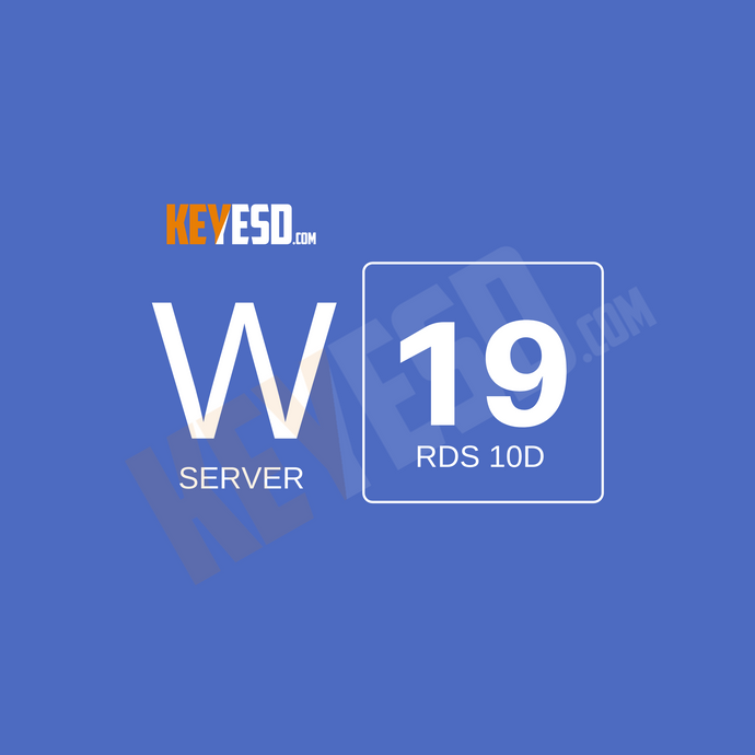 Microsoft Windows Server 2019 RDS CALs 10 Device Connections Key Esd [Global] - keyesd