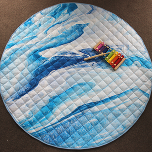 Luxe Cotton Play Mat - A Drop in the Ocean