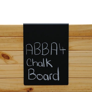 Blk A4 Chalk Board