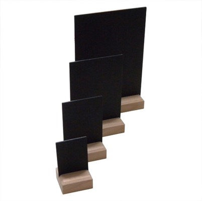 A6 COUNTER BLACK BOARD