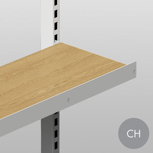 MAXe 30 mm shelf lip 52 H - 600 mm bay