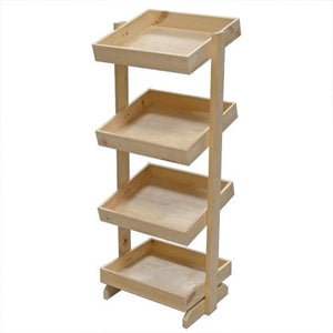 4 Tier Wooden Stand