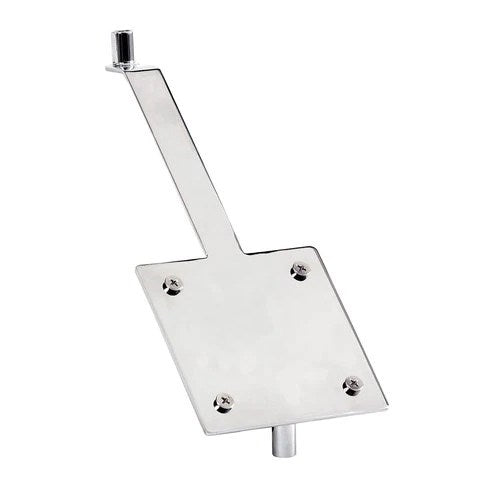 Angled brochure holder plate for stem with stem adaptor to Suit M4240CA