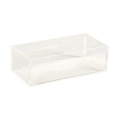 Acrylic container rectangular 300 x 145 x 100 mm H
