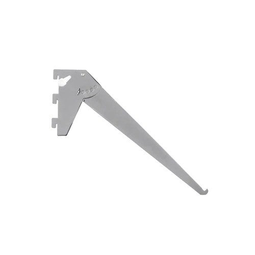 Shelf bracket with 5 adjustable angles 300 L x 2.5 mm Thick