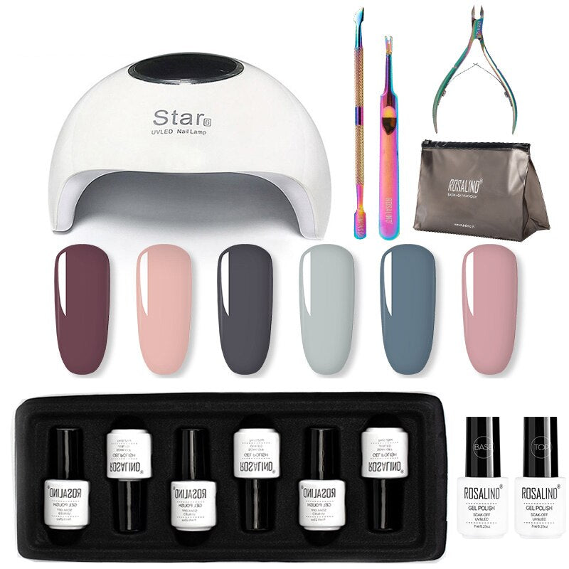 Kit vernis semi permanent n°1 ROSALIND