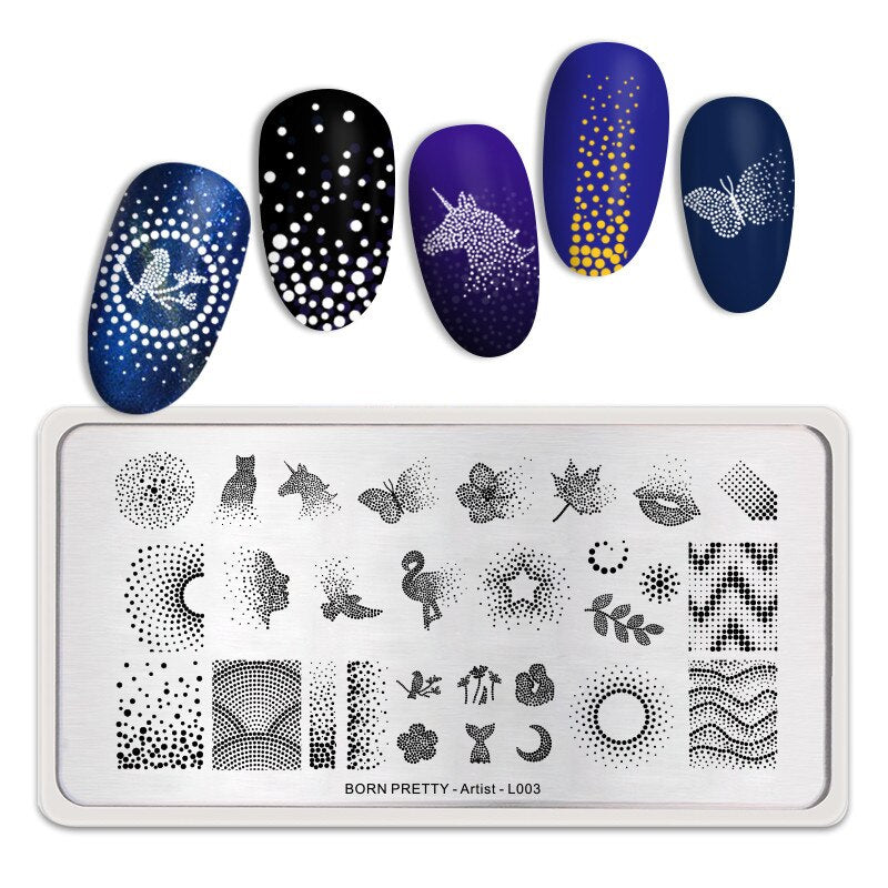 Plaque de stamping - Pack Abstraction