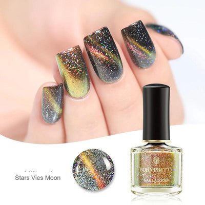 Vernis ongles magnétique star vies moon