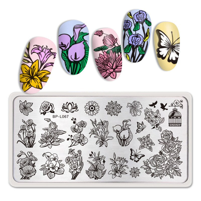 Plaque de Stamping - Pack Printemps