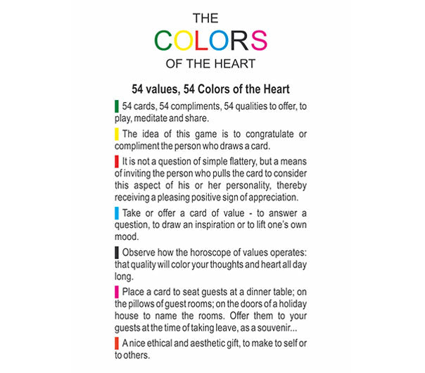 Colors of the Heart
