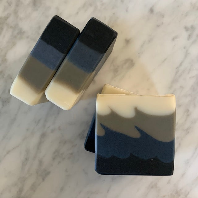 all natural bergamot and lime bar soap