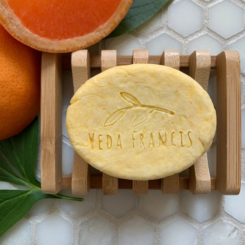all natural shower shave bar - grapefruit and tangerine