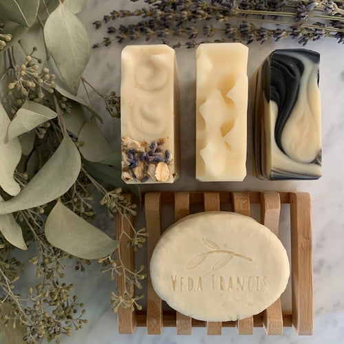 all natural soap eco-shower gift bundle