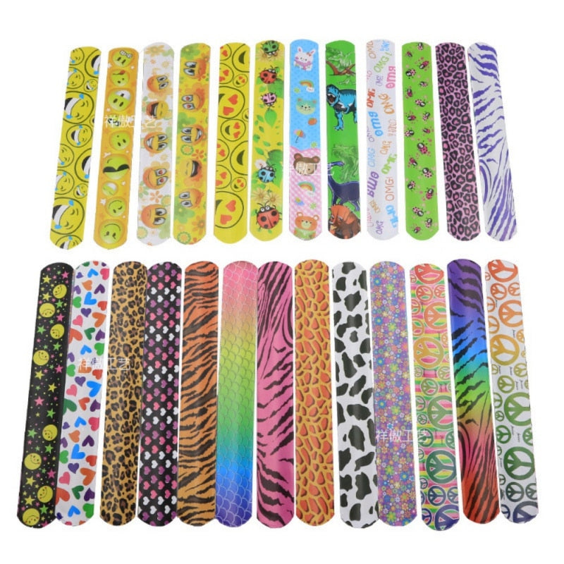Slap Bracelets (25 Pieces)