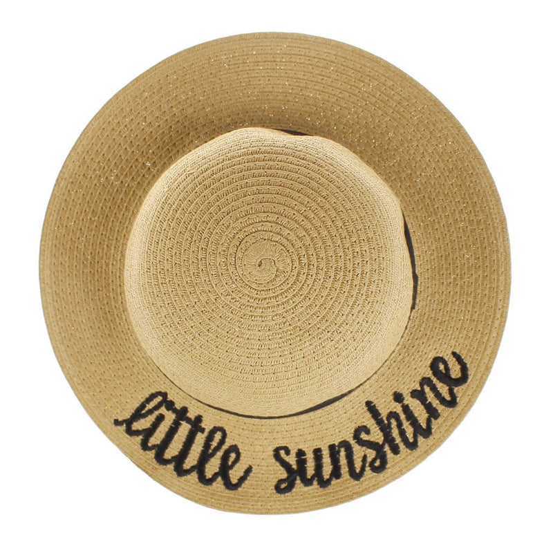 Beach Please Straw Hat