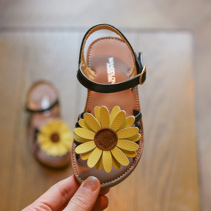 Sunflower Sandals
