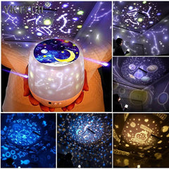 Starry Sky Projection Lamp