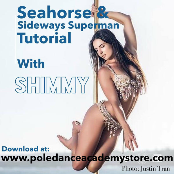 Seahorse & Sideways Superman Tutorial With Shimmy