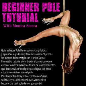 Beginner Pole Spins with Monica Sierra (Spanish Version)