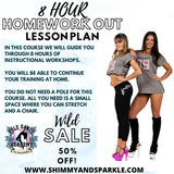 8 Hour Home Workout Lesson Plan