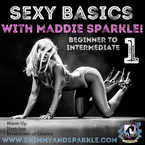 Sexy Basics 1: Beginner to Intermediate Pole Choreo with Maddie Sparkle