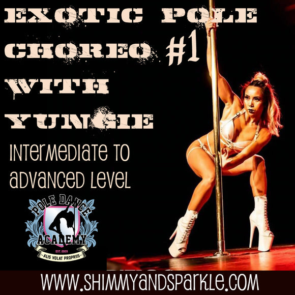 Pole Choreo #1 with Yungie Dang