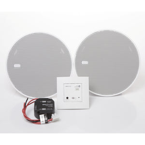 "Eissound Bluetooth IN-WALL-Modul mit 2x 5"" Lautsprecher, in weiß"