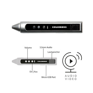 Columbus Audio/ Video Pen