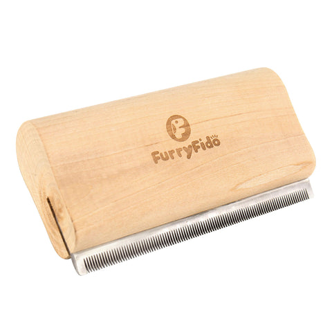 FURRY FIDO PET DESHEDDING & GROOMING BRUSH – SHORT HAIR