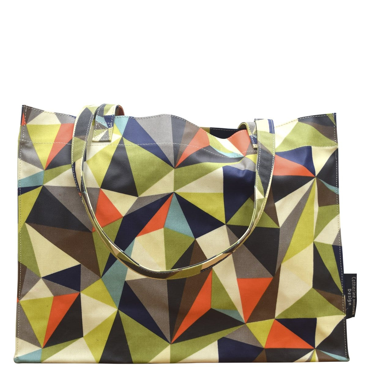 Beach Bag/Eco Shopper Tote - Geometric