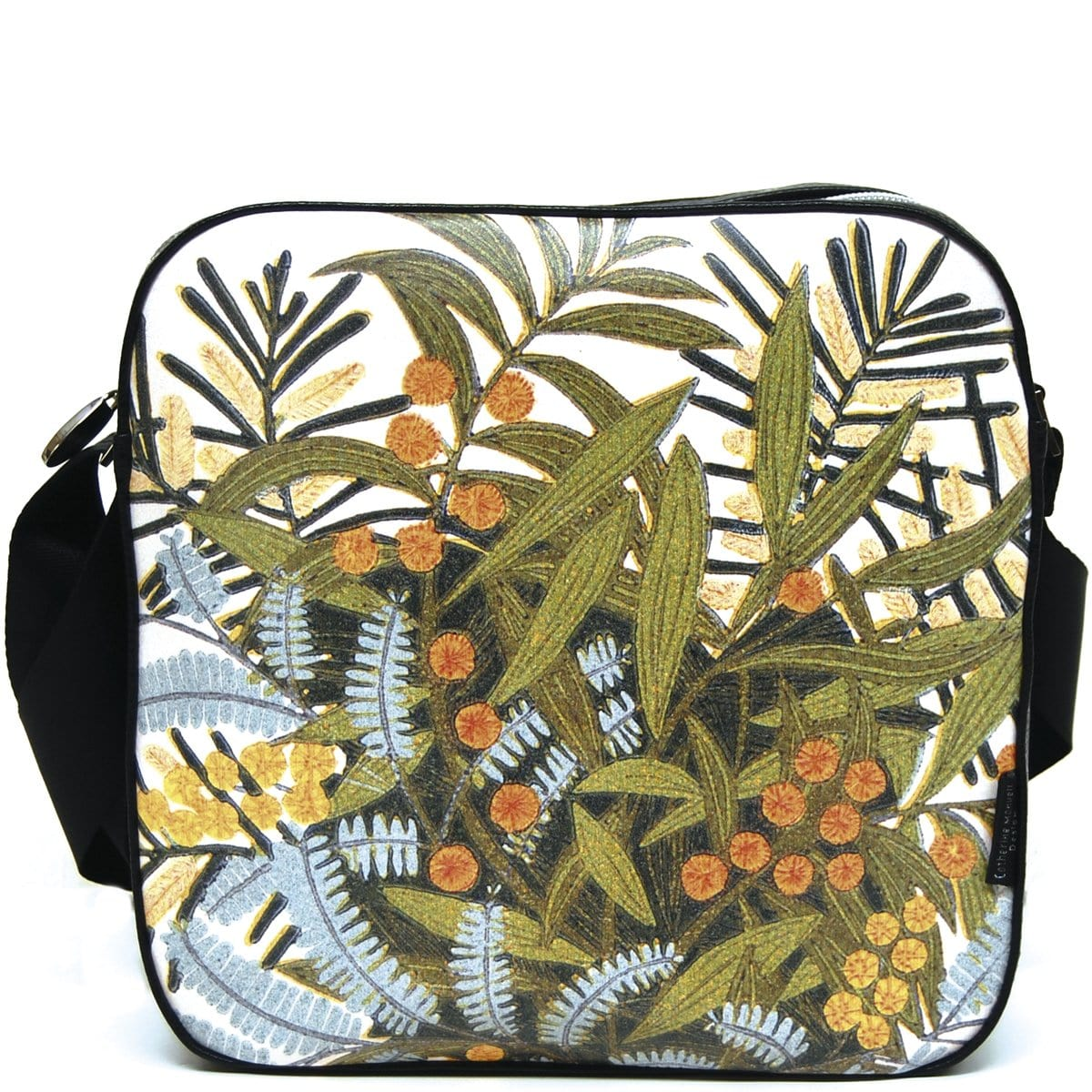 Floral Tote Bag - Wattle