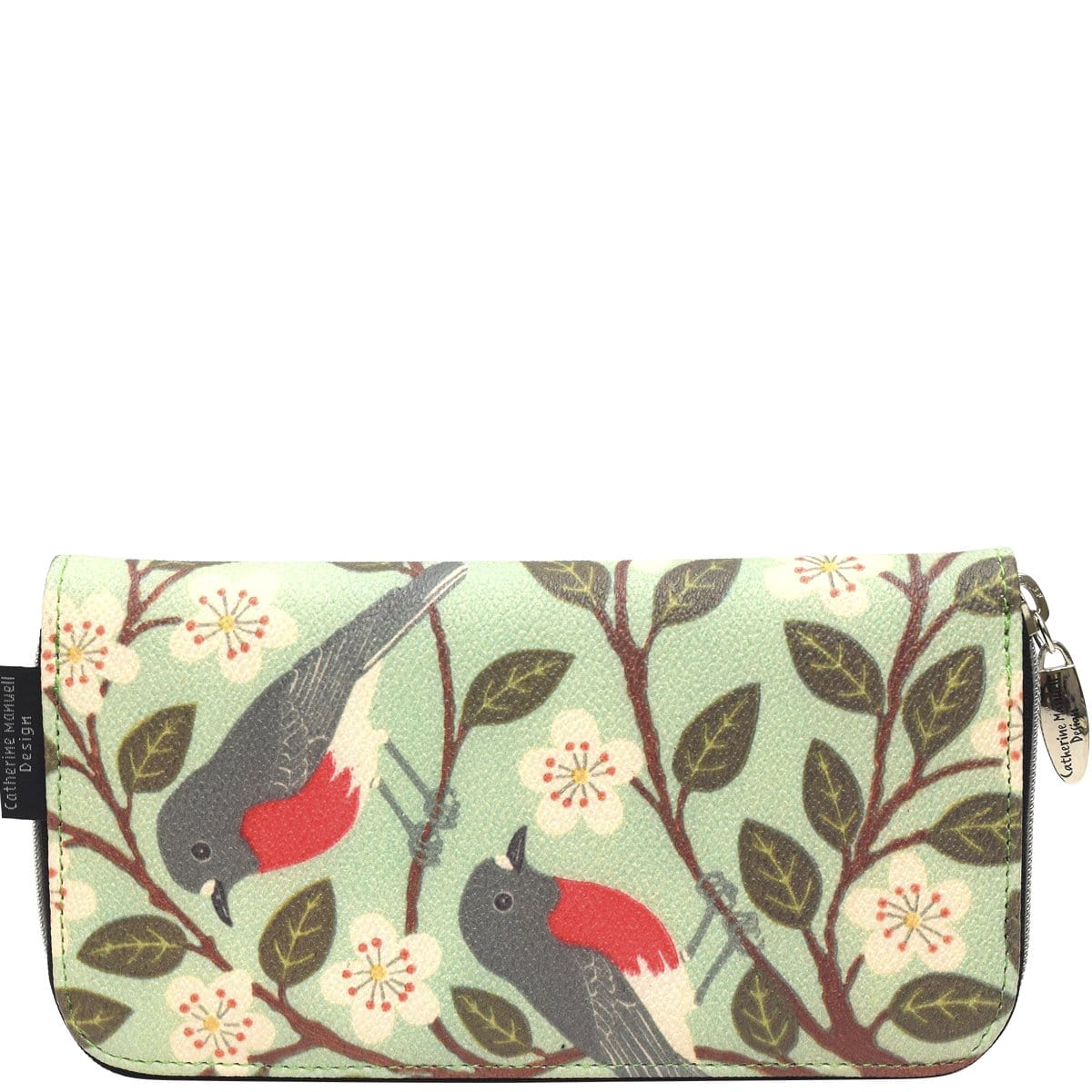 Floral Wallet - Rose Robins