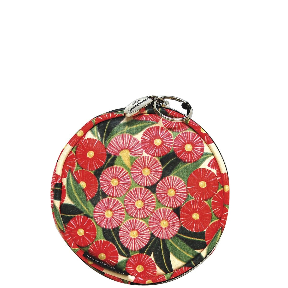 Floral Full Moon Coin Purse - Flowering Gums