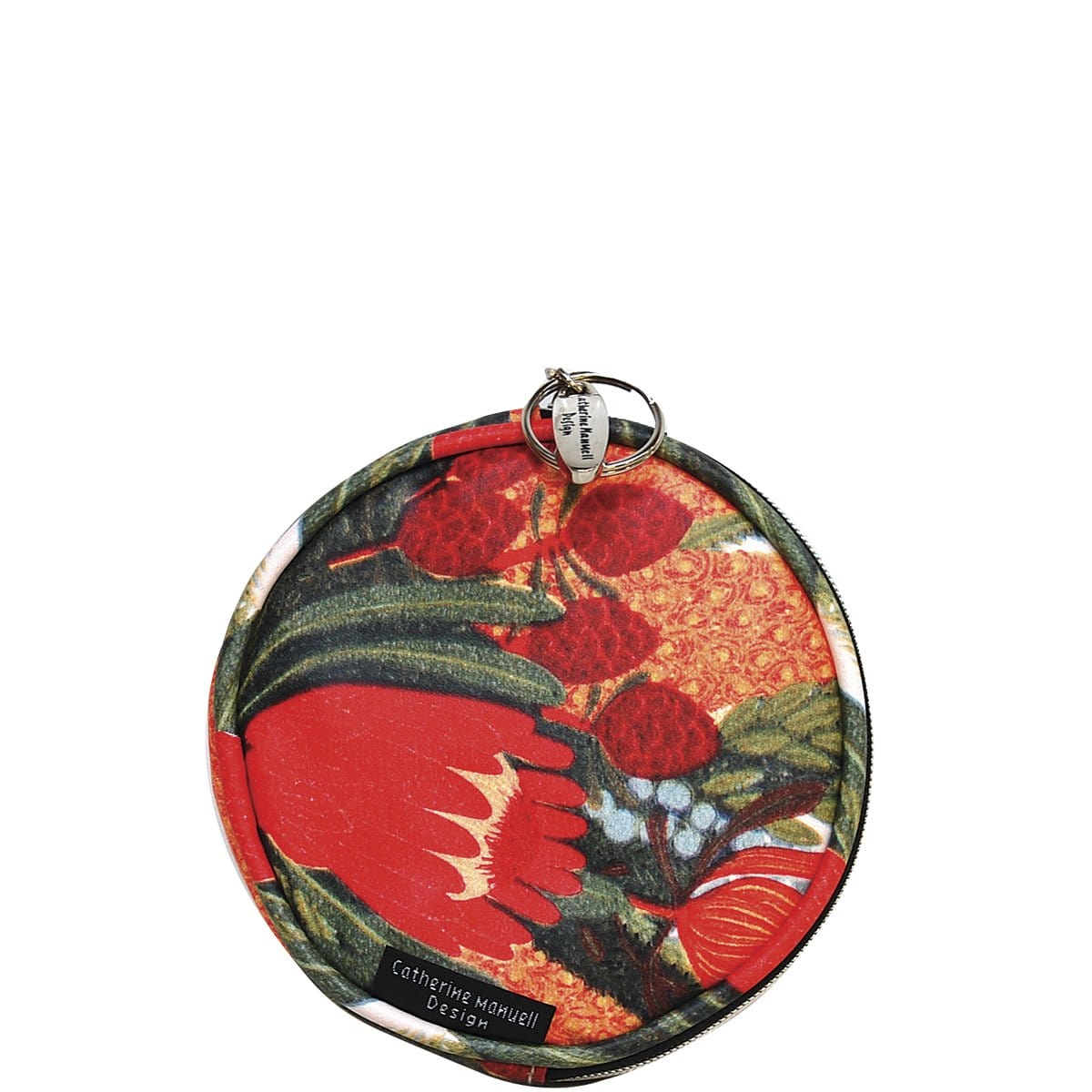 Floral Full Moon Coin Purse - Native Posy