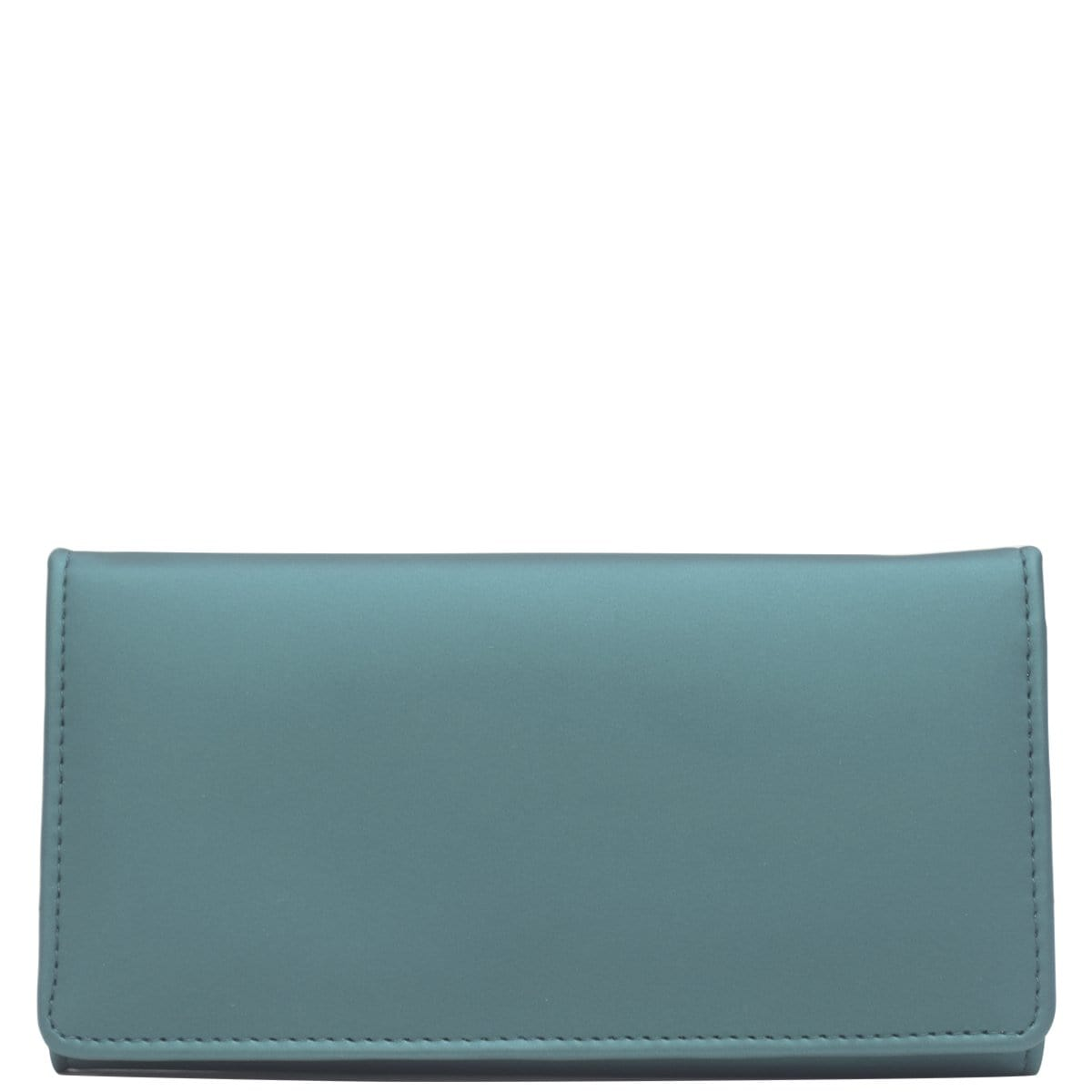 Wider Window Wallet - Green Shimmer