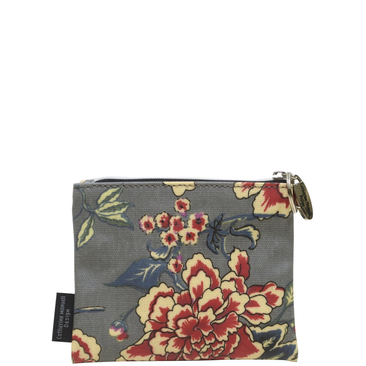 Everyday Purse - Grey Red Roses
