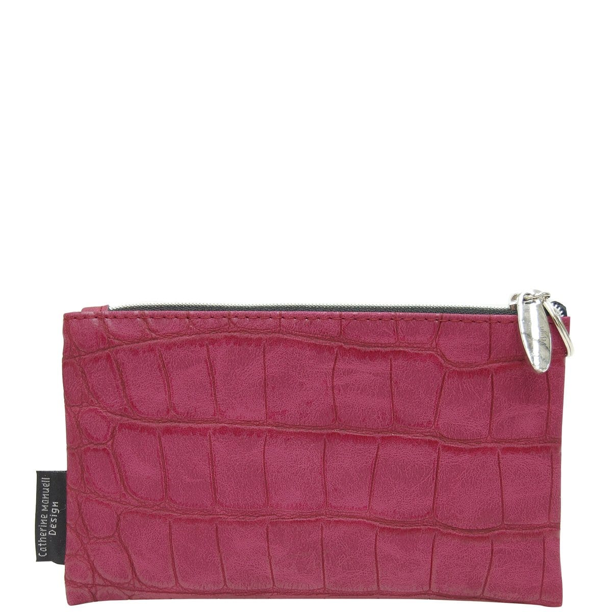 Medium Overflow Purse - Plum Croc