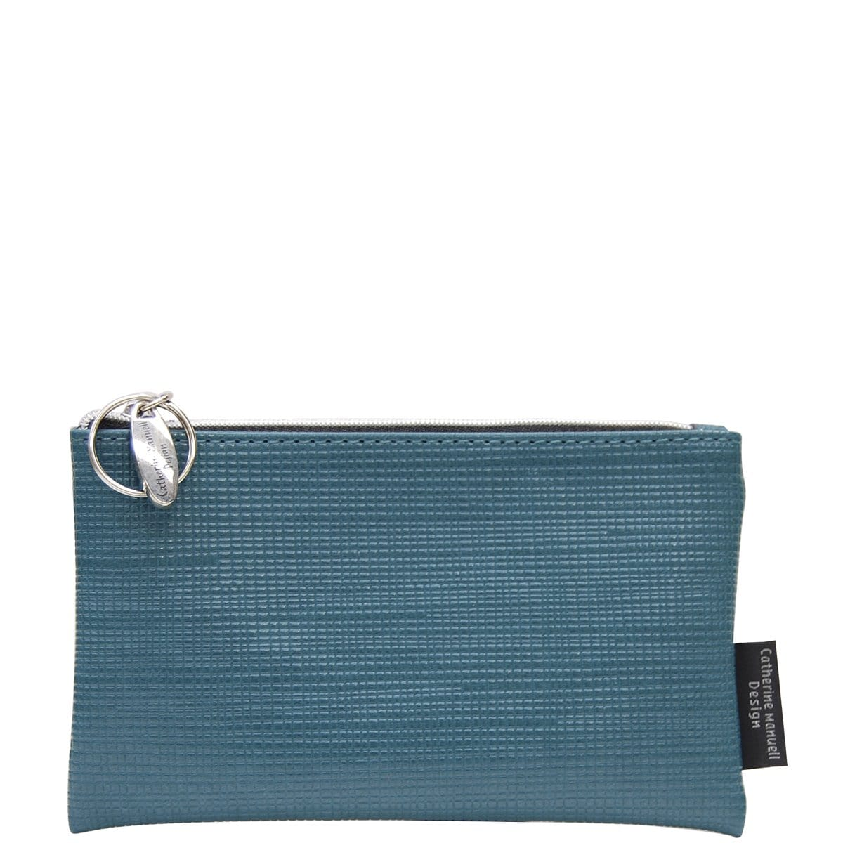 Medium Overflow Purse - Teal Criss Cross