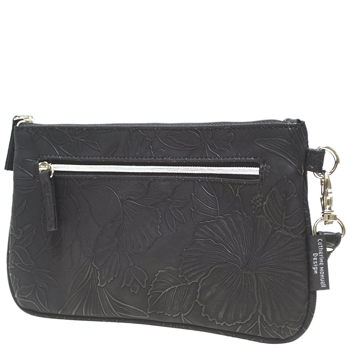 Clutch Wallet - Black Emboss Tahiti