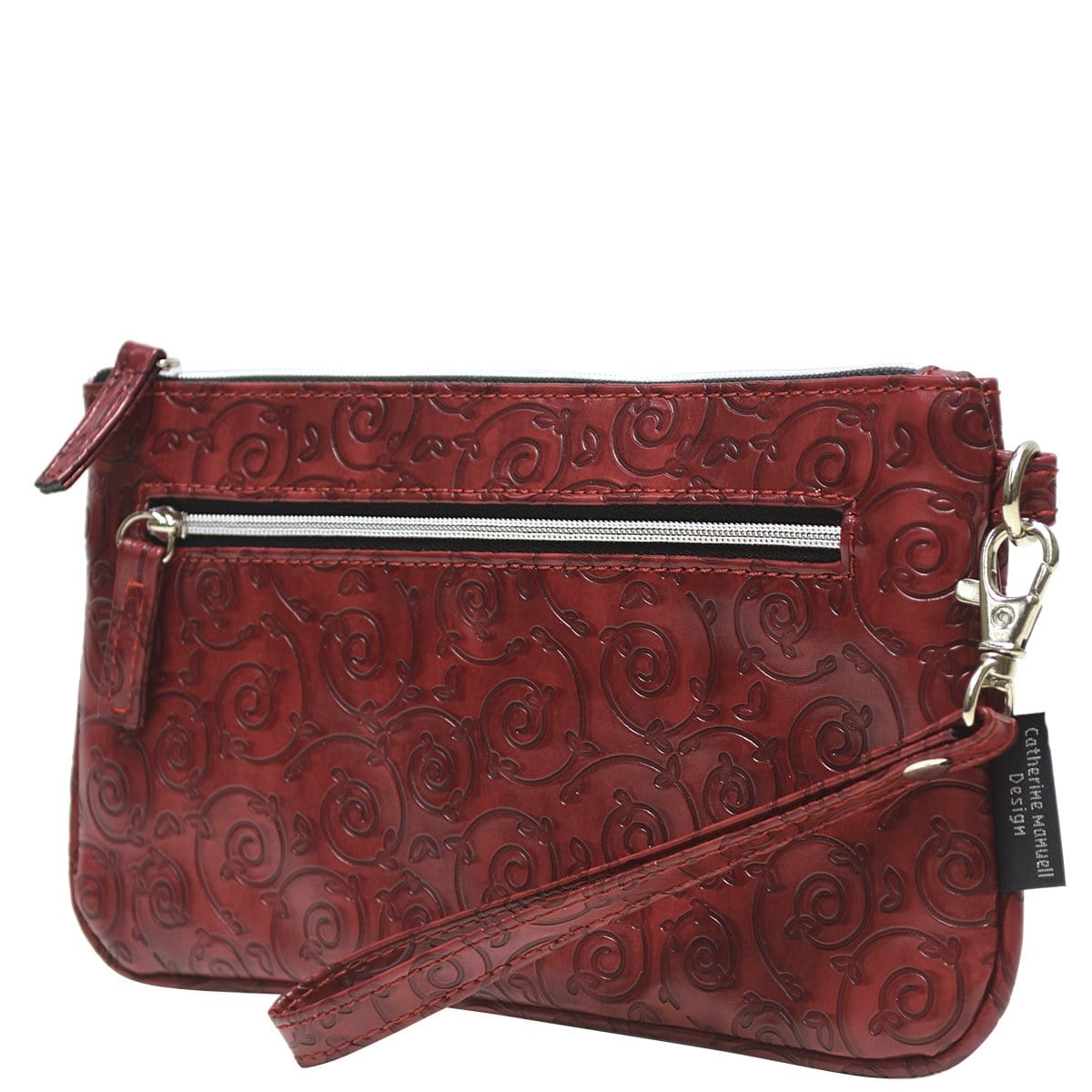Clutch Wallet - Red Gate Pattern