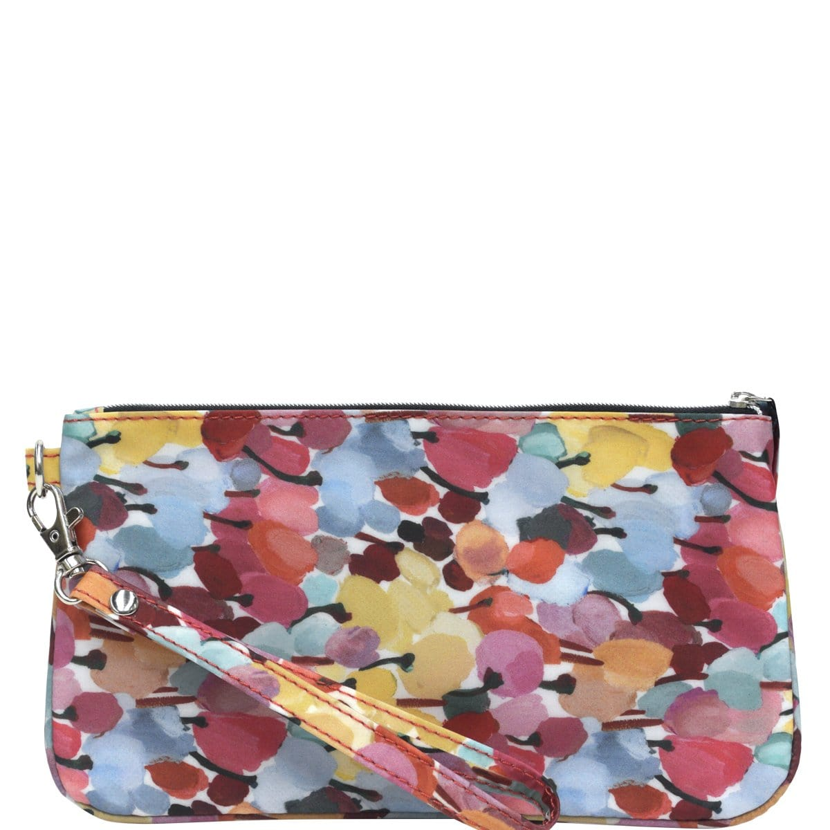 Clutch Wallet - Liberty Tulip Field/Coral