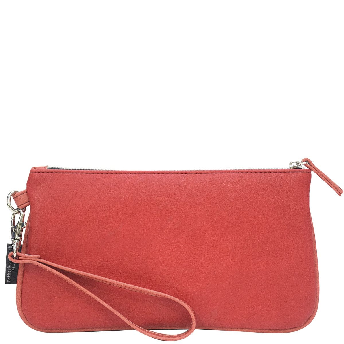 Clutch Wallet - Red/Coral