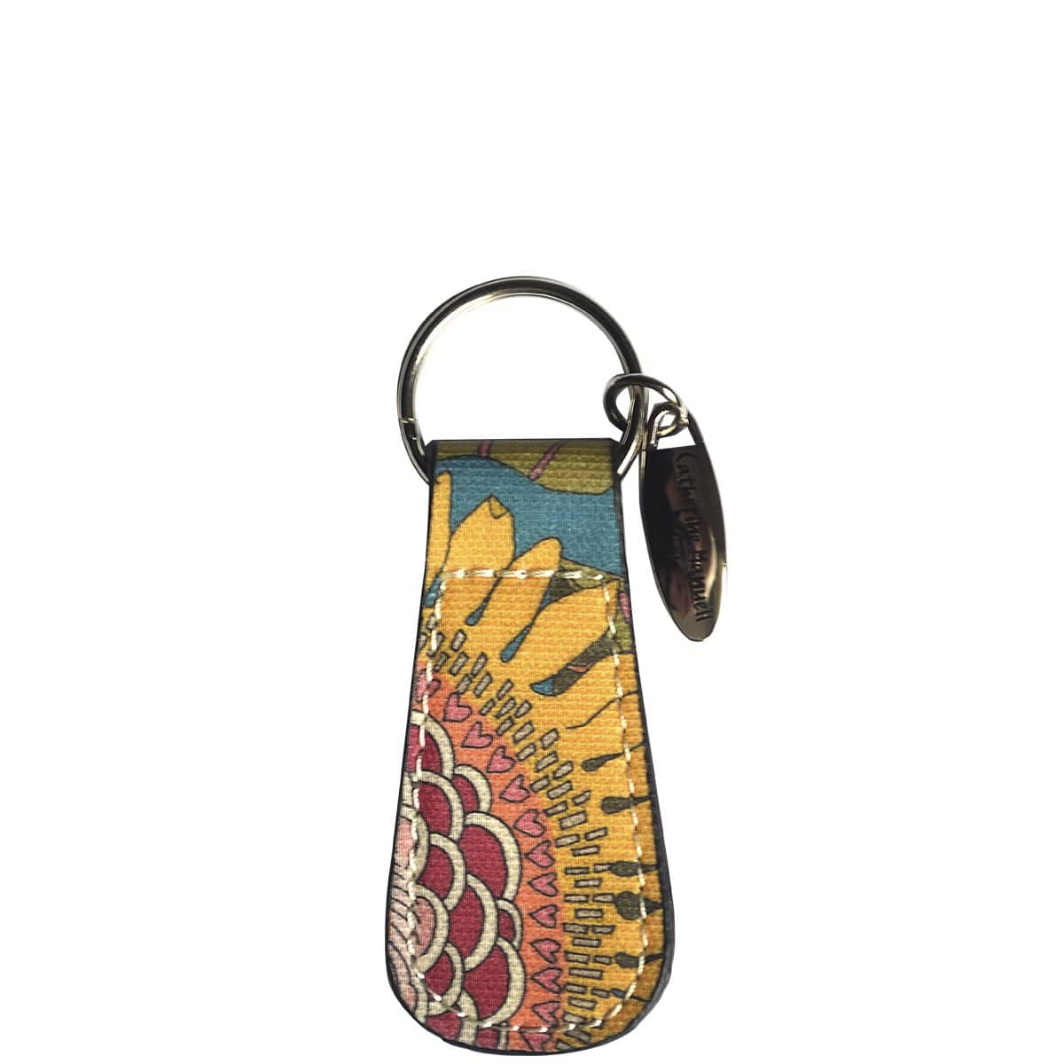 Key Tag - Liberty Sunflower Brights