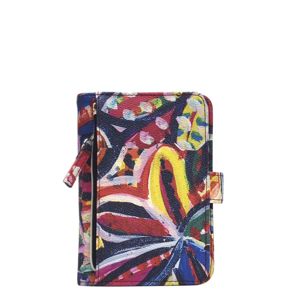 Compact Passport Wallet AAP - Bush Flowers