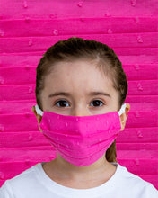Load image into Gallery viewer, Kids Pink Dot Face Mask
